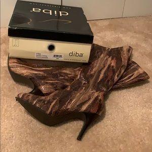 Diba snakeskin boots
